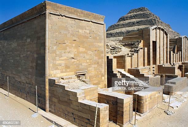 Mortuary complex of the Step Pyramid of Djoser Saqqara Memphis Egyptian civilisation Old Kingdom Dynasty III