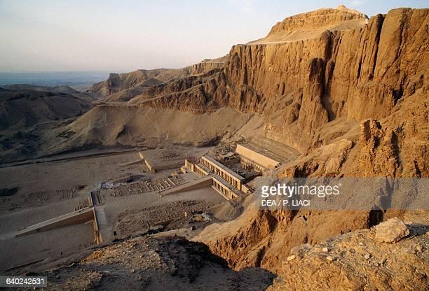 Mortuary Temple of Hatshepsut Deir elBahari Theban Necropolis Egyptian Civilisation New Kingdom Dynasty XVIII