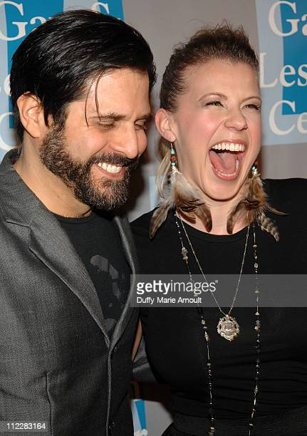 Morty Coyle and Jodie Sweetin attend LA Gay and Lesbian Center's An Evening with Women at The Beverly Hilton hotel on April 16 2011 in Beverly Hills...