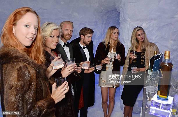 Morwenna Lytton Cobbold Natalie Coyle Alistair Guy Luke Treadaway Ruta Gedmintas and Tamsin Egerton attend JOHNNIE WALKER BLUE LABEL Presents...