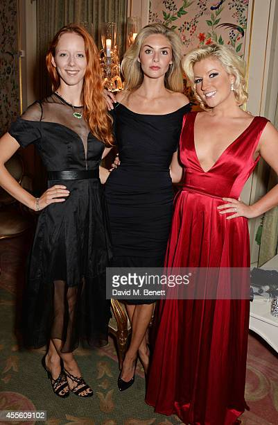 Morwenna Lytton Cobbold Tamsin Egerton and Natalie Coyle attend JOHNNIE WALKER BLUE LABEL Presents SYMPHONY IN BLUE A Journey To The Centre of The...