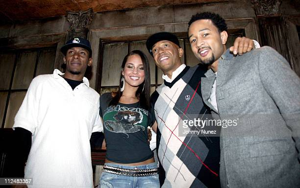 Mos Def Alicia Keys Russell Simmons and John Legend