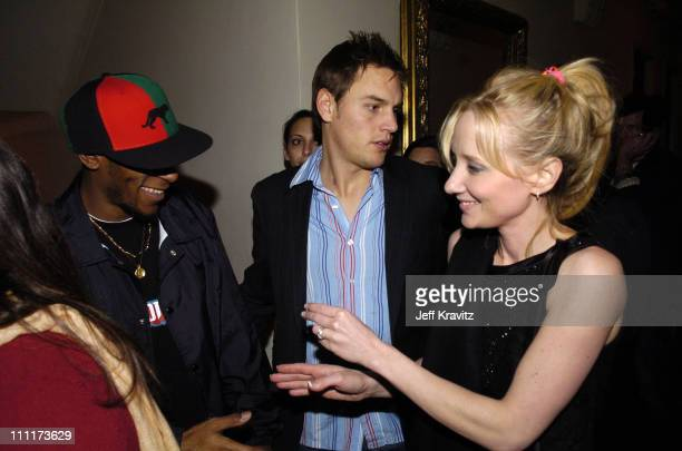 Mos Def and Anne Heche during 2005 HBO PreGolden Globe Awards Party in Los Angeles California United States