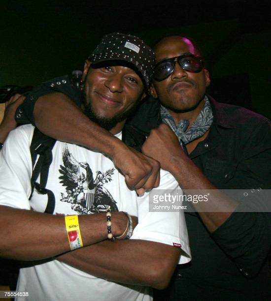 Mos Def and QTip attends Pepsi Superstar DJ Contest Hosted By DJ Enough July 18th 2007