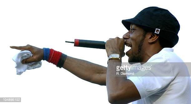 Mos Def during Voodoo Music Experience 2003 Day Two at City Park in New Orleans Louisiana United States
