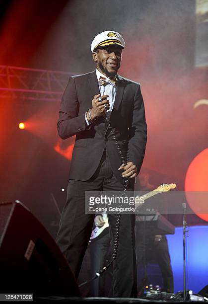 Mos Def performs in concert at Madison Square Garden on October 8 2010 in New York City