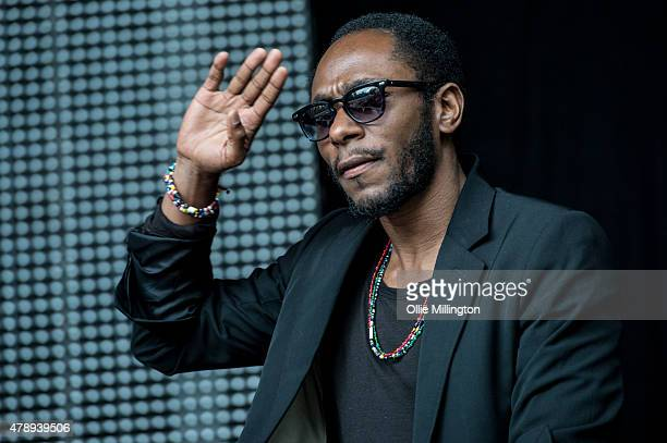 Mos Def Performs onstage during a Black Star set on day 1 of Wireless Festival 2015 at Finsbury Park on June 28 2015 in London England