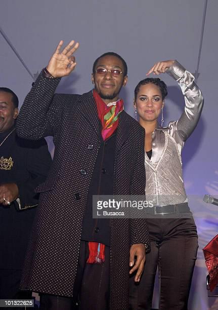 Mos Def performs with Alicia Keys