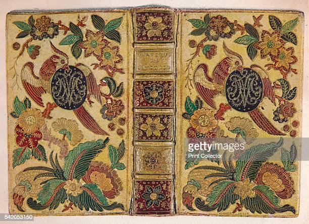 'Mosaic binding signed by Le Monnier and bearing the monogram of Maria Josepha of Saxony' c1750 From The Art of the French Book edited by André...