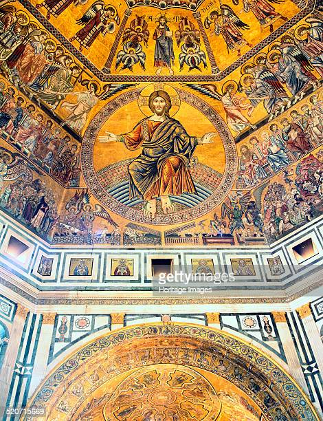 Mosaic ceiling Baptistry of St John Florence Italy The Baptistry of St John is thought to be the oldest building in Florence dating from the 6th or...