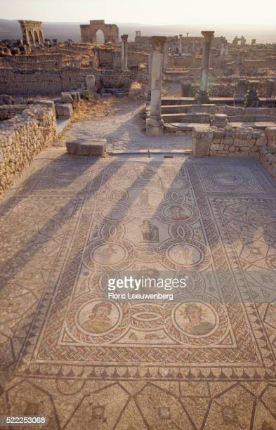 Mosaic Floors at Volubilis