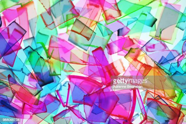mosaic of broken plastic - special:random stock pictures, royalty-free photos & images