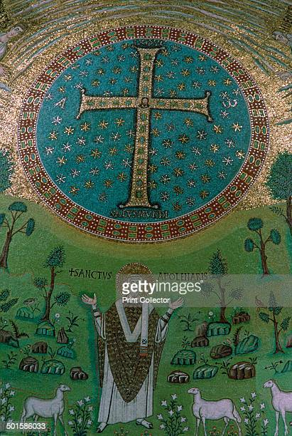Mosaic of Christ the Good Shepherd from Sant' Apollinare in Classe
