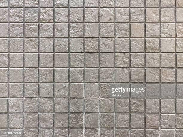 mosaic pattern wall - carré composition photos et images de collection