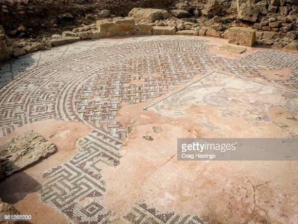 Mosaic Ruins in Paphos Cyprus