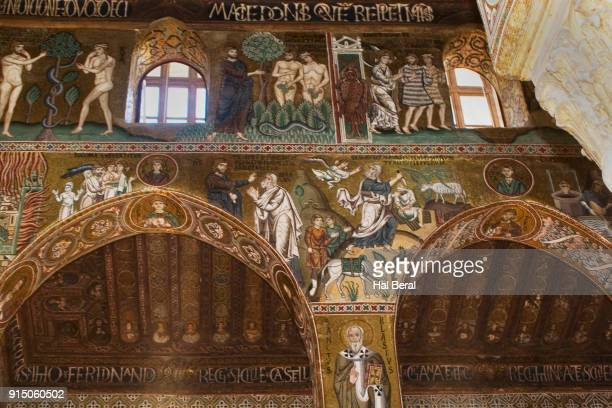 Mosaics in the Palatine Chapel of the Norman Palace