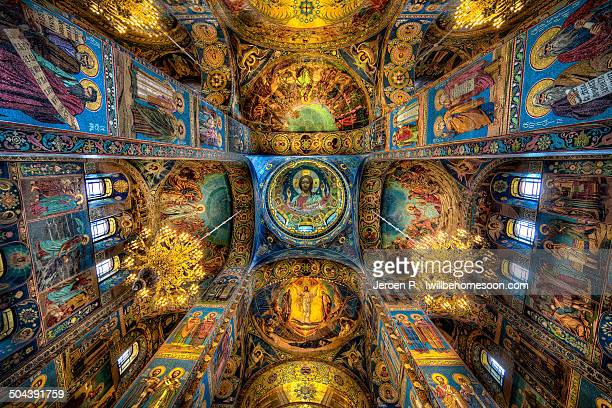 Mosaics of Church of the Savior on Spilled Blood