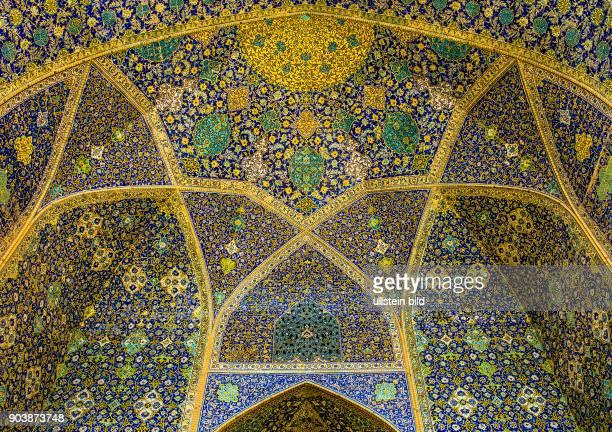 Moschee Masjide Imam Isfahan Esfahan Iran IRN Islamische Republik Iran Gottesstaat Persien Vorderasien Schiiten Islam Muslime UNESCOWelterbe...