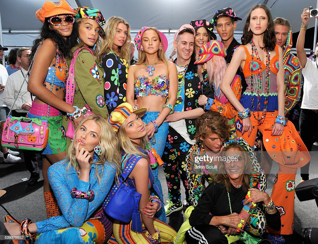 Moschino Spring/Summer 17 Menswear And Women's Resort Collection - Backstage : News Photo