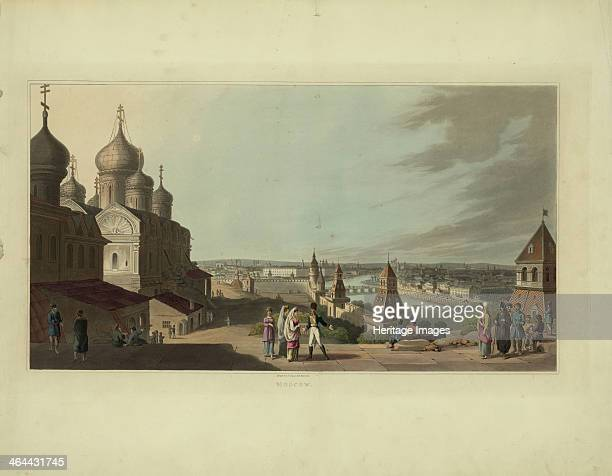 Moscow 1814 Found in the collection of the Russian State Library Moscow