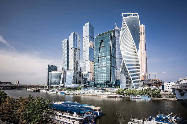 moscow international business center - 俄羅斯 個照片及圖片檔