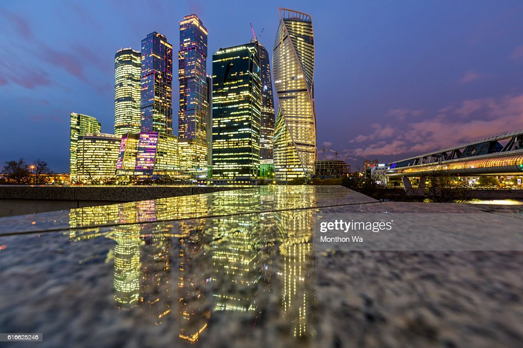 Moscow International Business Center, Russia : Stock Photo