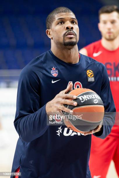 Moscow Kile Hines during Turkish Airlines Euroleague match between Real Madrid and CSKA Moscow at Wizink Center in Madrid Spain November 29 2018