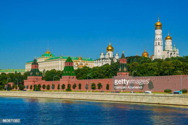 moscow kremlin and moskva river - red square stock pictures, royalty-free photos & images