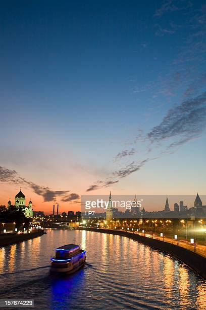 Moscow Kremlin on sunset