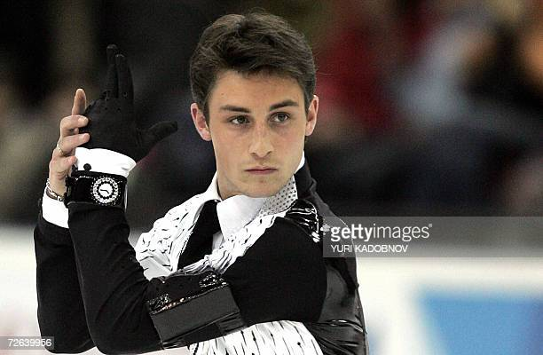 French Brian Joubert performs his Men Short Program at the ISU Figure Skating Grand Prix in Moscow 24 November 2006 AFP PHOTO / YURI KADOBNOV