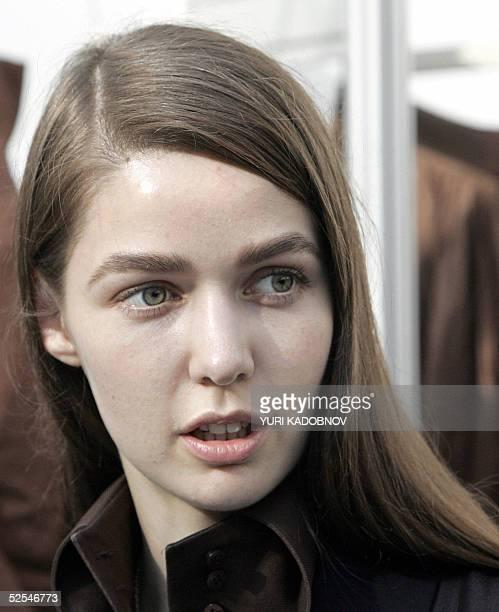 Alena Akhmadullina Fashion Designer Stock Pictures, Royalty-free ...