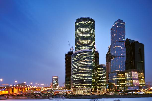 Moscow Skyline Wall Art