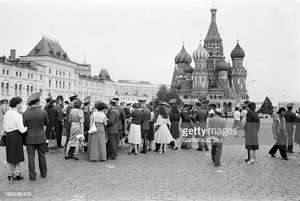 Moscow Summer Olympic Games 1980 Union Soviétique 14 juillet 1980 à l'occasion des Jeux Olympiques d'été de Moscou la vie quotidienne à Moscou Des...