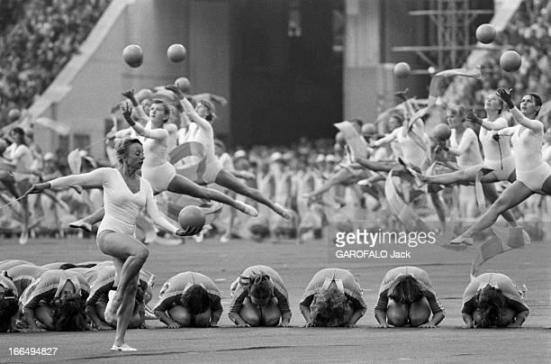 Moscow Summer Olympic Games 1980 Union Soviétique 21 juillet 1980 la cérémonie d' ouverture des Jeux Olympiques d'été de Moscou Les jeux furent...
