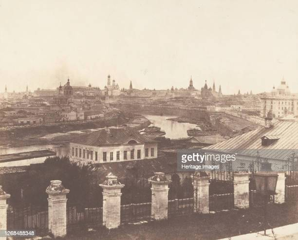 Moscow, the Kremlin in the Distance, 1852. Artist Roger Fenton.