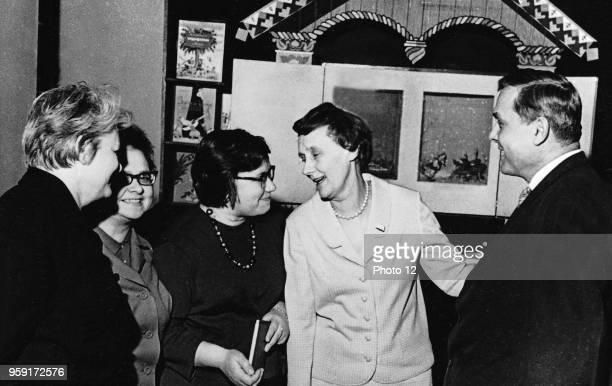 1965 Moscow The Swedish author Astrid Lindgren is visiting the House of the Children's Book