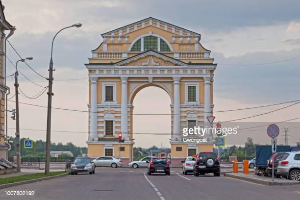 Moscow Triumphal Gates in Irkutsk