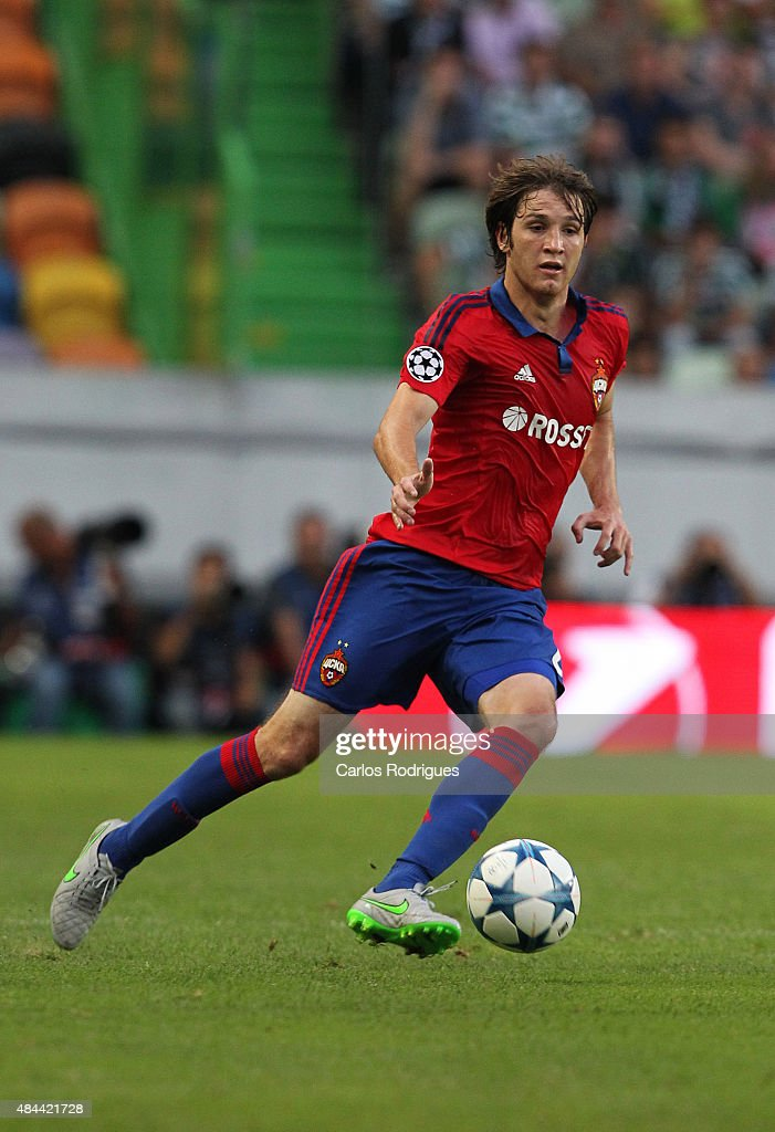 Sporting CP v CSKA Moscow - UEFA Champions League: Qualifying Round Play Off First Leg