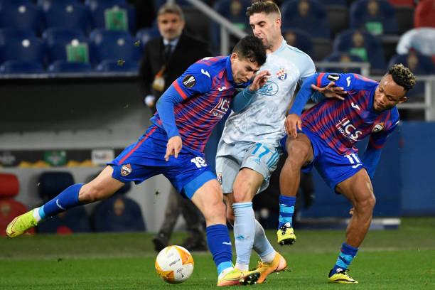 RUS: CSKA Moskva v Dinamo Zagreb: Group K - UEFA Europa League