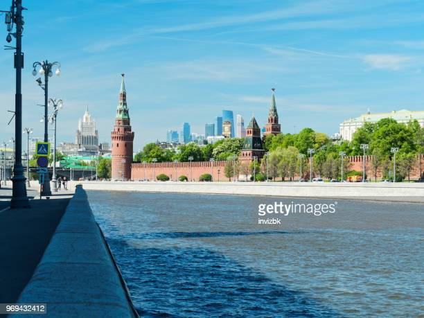 Moscva river view in the heart of Moscow