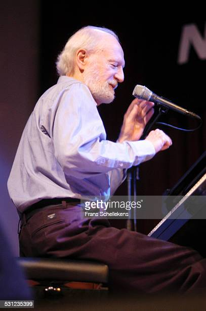 Mose Allison, vocal and piano, performs at the North Sea Jazz Festival on July 9th 2005 in Amsterdam, Netherlands.
