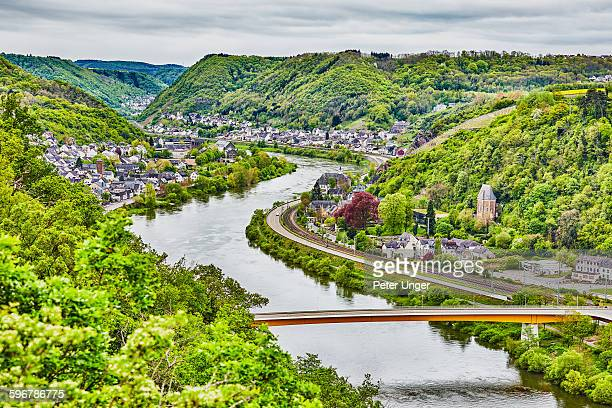 mosel valley, germany - moselle stock pictures, royalty-free photos & images