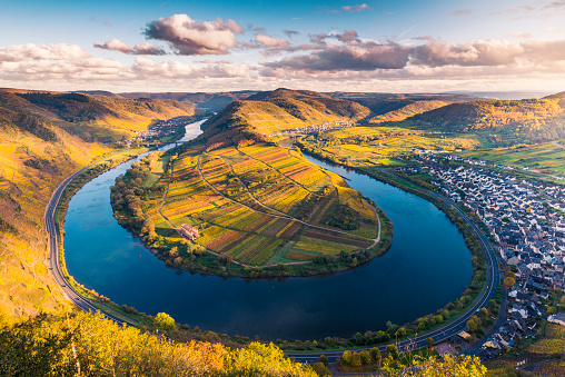 Moselle river, Germany. - gettyimageskorea