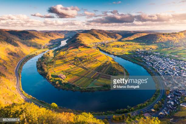 Moselle river, Germany.