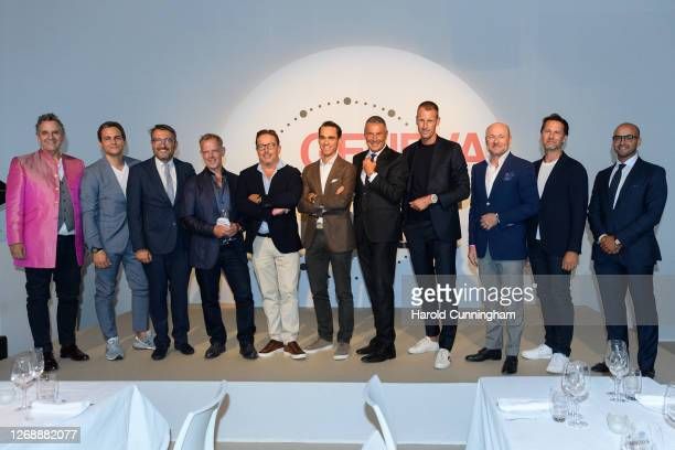 Moser & Cie CEO Edouard Meylan, Bulgari CEO Jean-Christophe Babin, Ulysse-Nardin CEO Patrick Pruniaux, Breitling CEO Georges Kern, MB&F CEO...