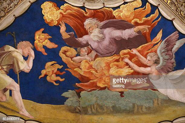 Moses before the Burning Bush Room of Heliodorus Vatican Museum