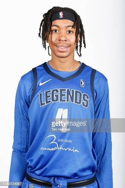 Moses Brown of the Texas Legends poses for a headshot during G League Media Day on November 4 2019 at Comerica Center in Frisco Texas NOTE TO USER...
