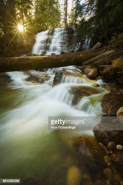 Moses Falls near Revelstoke, Kootenay region, British Columbia, Canada