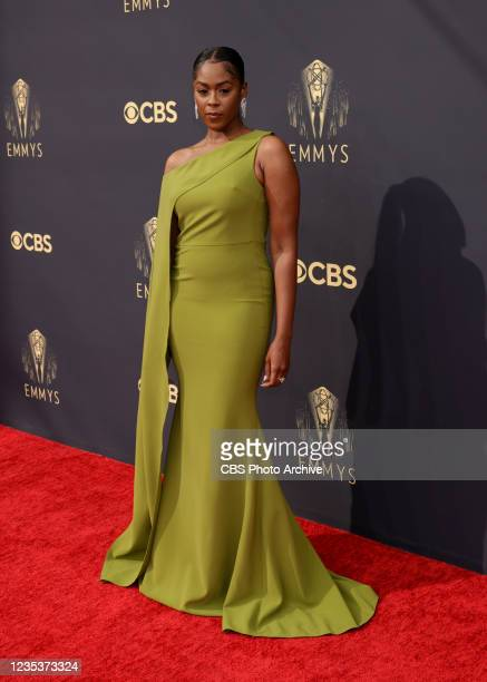 Moses Ingram attends the 73RD EMMY AWARDS on Sunday, Sept. 19 on the CBS Television Network and available to stream live and on demand on Paramount+.