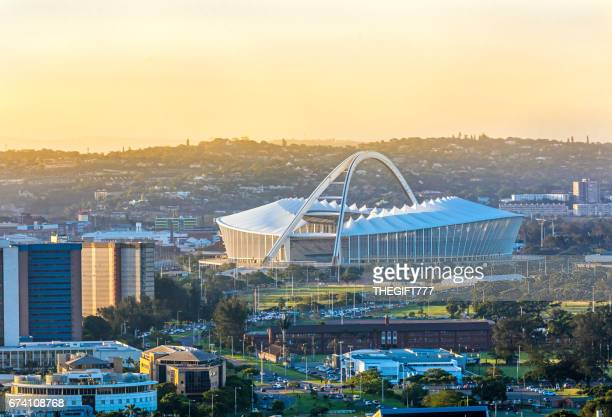 Moses Mabhida Stadium in Durban from above